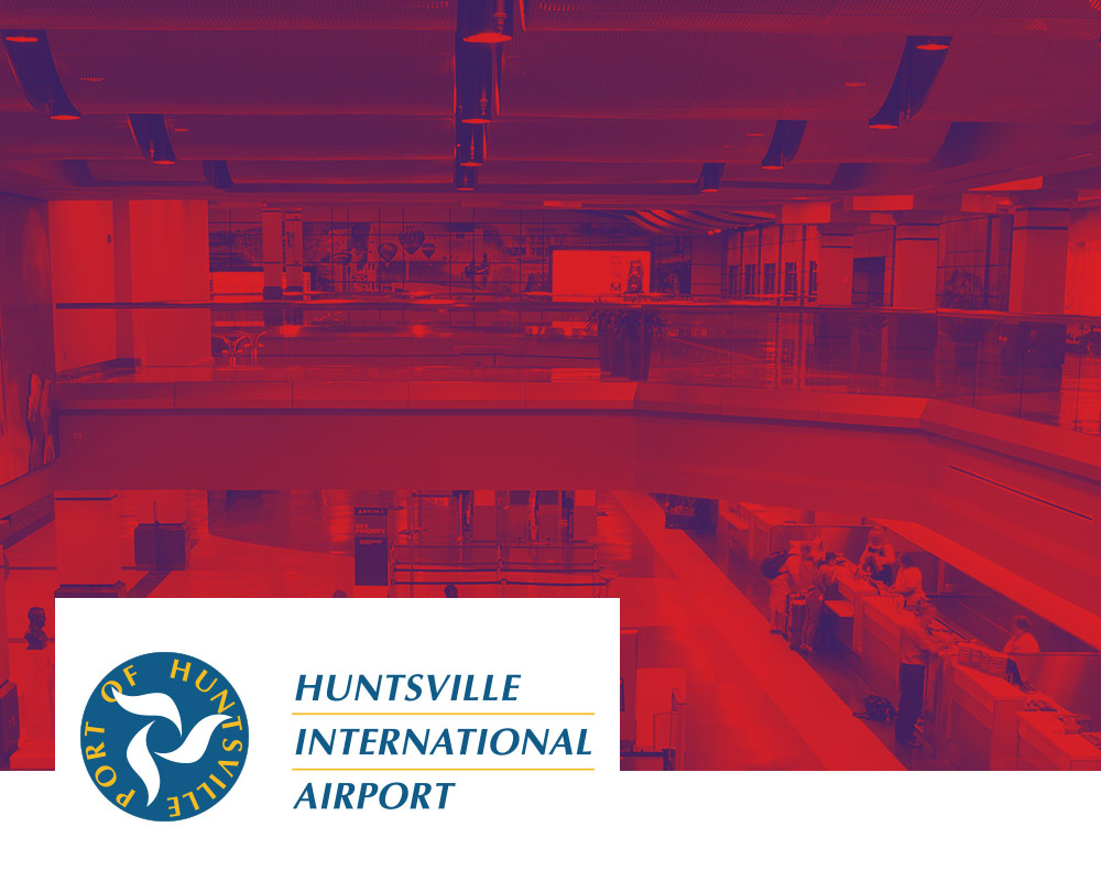 Carnegie Art Way at Huntsville International Airport