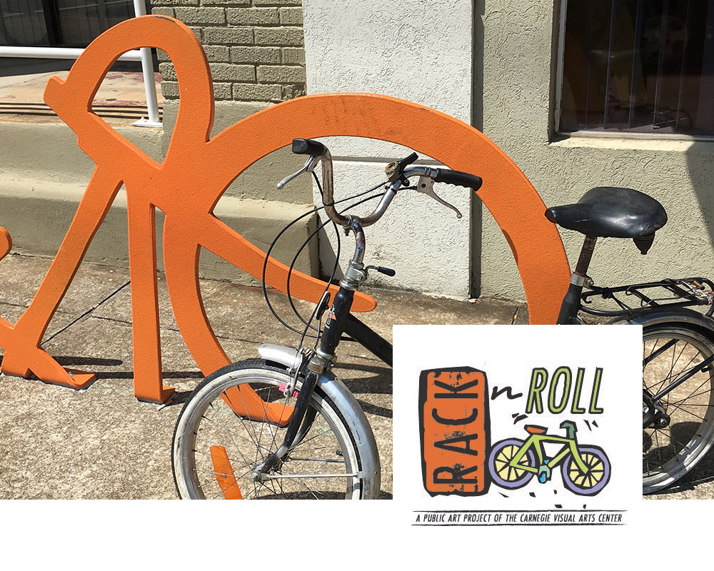 Rack n Roll - A public art project of the Carnegie Visual Arts Center
