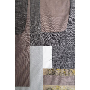 2020 | linen and cotton cloth, endemic dyed cotton cloth by Doug Baulos, cotton thread